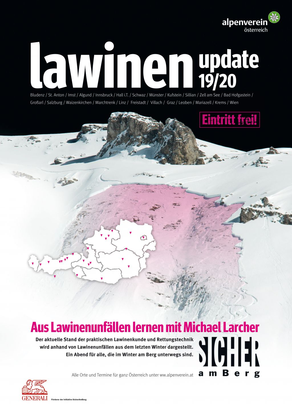 'Lawinen-Update: Molln, Nationalparkzentrum (OÖ)'